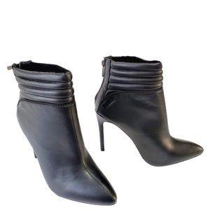 Women's Fahrenheit High Heel Ankle Booties Zip Bac